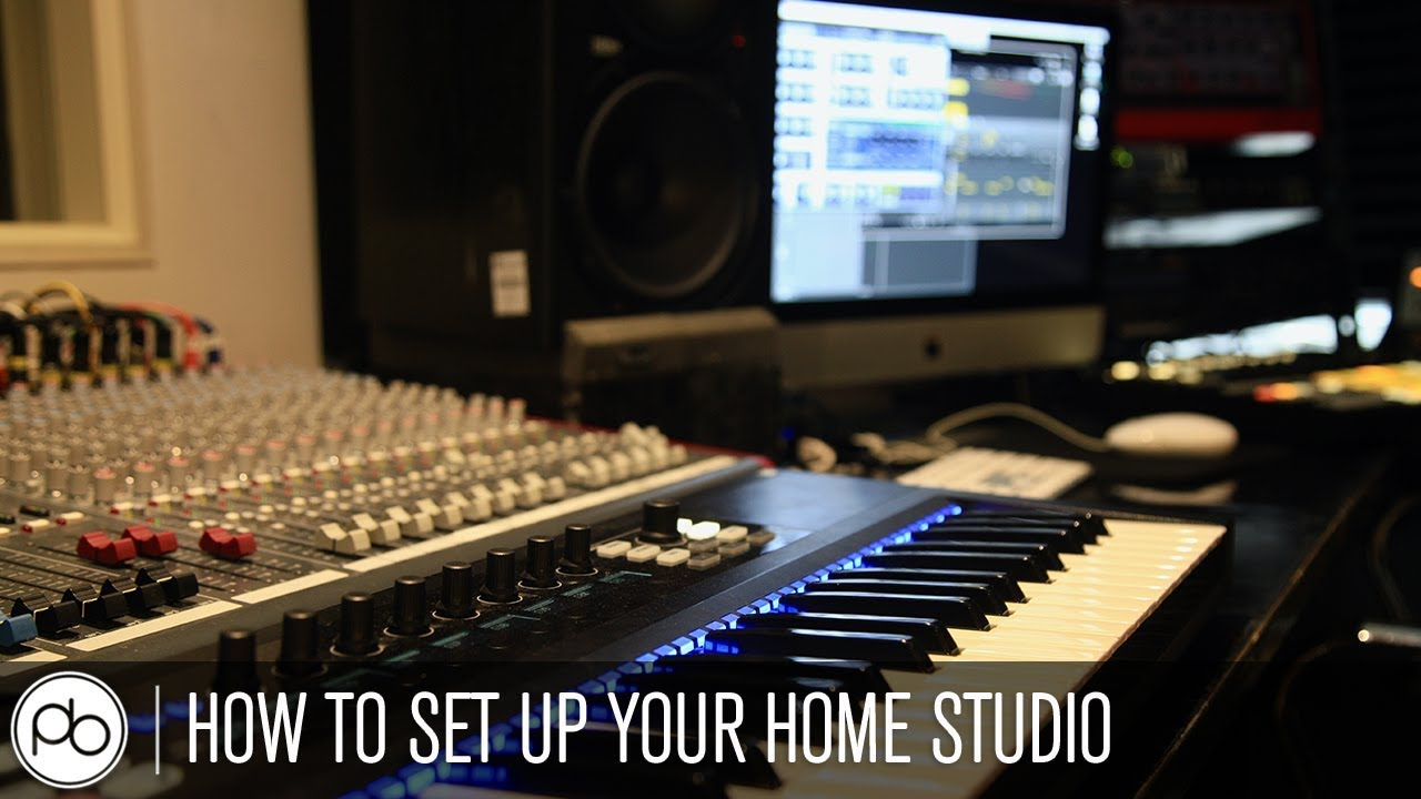 How To Set Up Your Home Studio Youtube