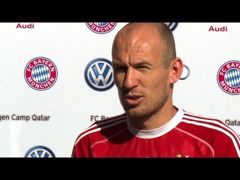 Robben comments on german player's coming out