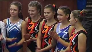 Открытые соревнования Московской области по спортивной гимнастике в Пущине