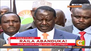 Raila Odinga and his running mate Kalonzo Musyoka withdraw from October 26 Presidential election