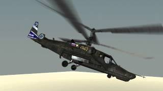 Вертолет Ка-50  3D-модель(Вертолет Ка-50: 3D-модель low-poly Скачать тут - http://3d-modeli.net/3d-modeli-aviacija/vertolety/3459-3d-model-vertolet-ka-50.html., 2016-03-21T09:26:49.000Z)