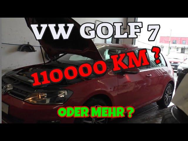 Golf 7 - Ölschild falsch ausgefüllt - 110000 KM oder mehr?