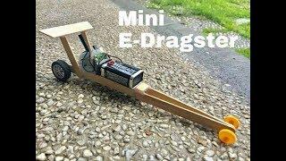 Fast mini E-Dragster |Homemade