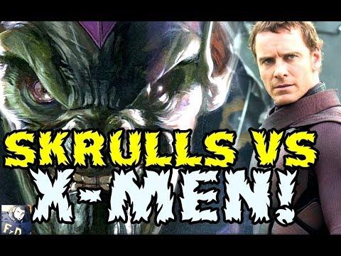 SKRULLS VS X-MEN DARK PHOENIX  - FOX SE ADELANTA A MARVEL STUDIOS -  BATALLA EN LA ONU