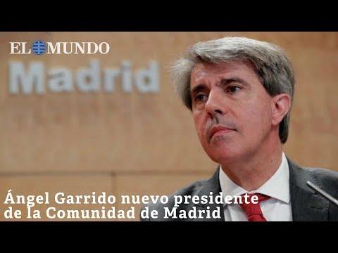 Ángel Garrido nuevo presidente de la Comunidad de Madrid