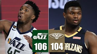 Utah Jazz vs. New Orleans Pelicans | 2019-20 NBA Highlights