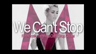 -Miley Cyrus.  We Cant Stop  Versión  [Radio Edit]