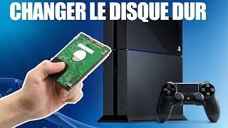 TUTO CHANGER DISQUE DUR PS4 ET TRANSFERER LES DONNÉES !