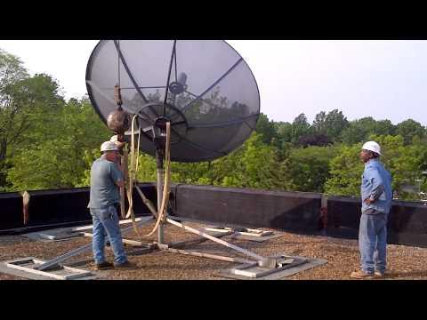 John Carroll University Satellite removal 5-25-12..MP4