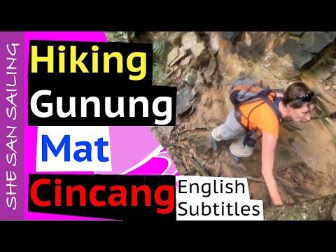 Malaysia 🇲🇾 Hiking the MACHINCHANG 🔝 (Gunung Mat Cincang) ⛰ during CMCO Lockdown in Langkawi - Ep 5