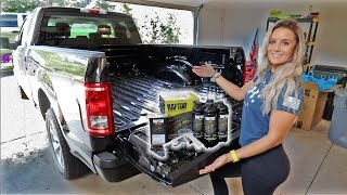 THE DIY $100 SPRAY-IN BEDLINER AT HOME!!! *DONT PAY LINE-X PRICES*