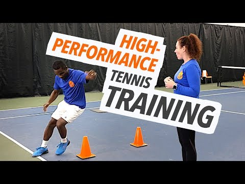 High Performance Tennis Training Workout For Speed, Agility, Quickness and Conditioning
