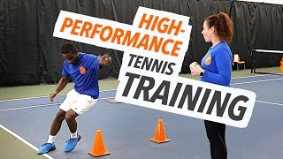 High Performance Tennis Training - Workout For Speed, Agility, Quickness and Conditioning