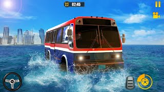River Bus Driver Tourist Coach Bus Simulator - Coach bus driving 2021 - Android Gameplay screenshot 4