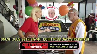 Antwerpen Toyota July Commercial Jack And Brenda Frese