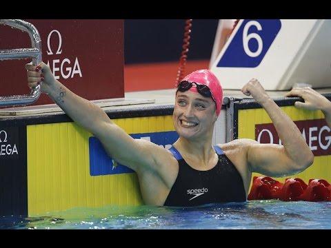 Mireia Belmonte, oro y récord del mundo thumbnail