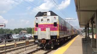 MBTA Rotem test extra at Mansfield MA 7/8/15
