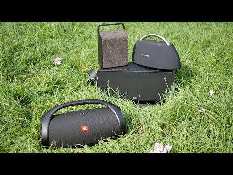 JBL Boombox - loudness comparison