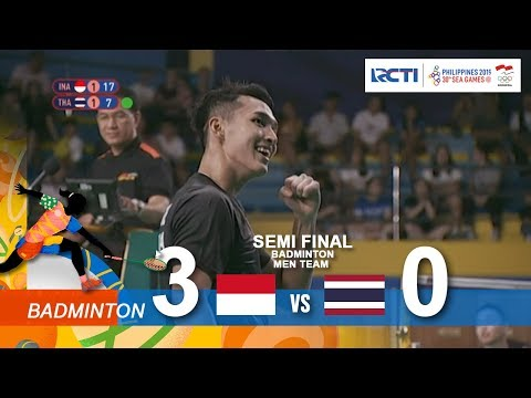 BADMINTON MEN TEAM | SEMI FINAL | 30TH SEA GAMES 2019