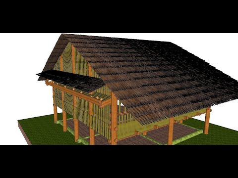 Odorless Deep Litter Chicken Coop Design