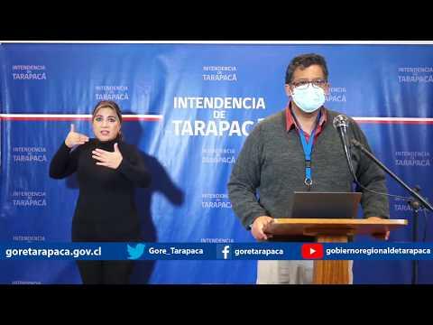 Punto de prensa 27 de junio de 2020 - Gobierno Regional de Tarapacá