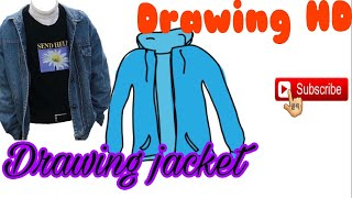 #Drawingpictureofjacket Draw the Jacket for Designers | Drawing HD| របៀបគូររូប