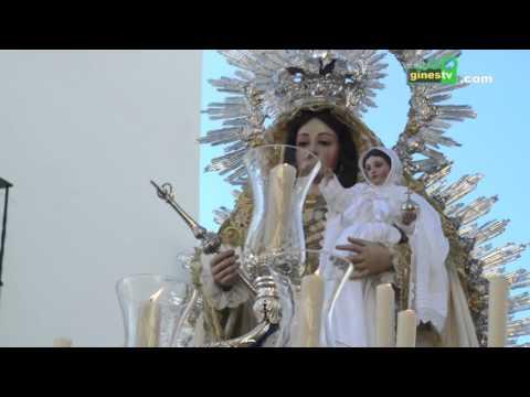 Procesión de Nuestra Señora de Belén de Gines con motivo de la Candelaria 2016