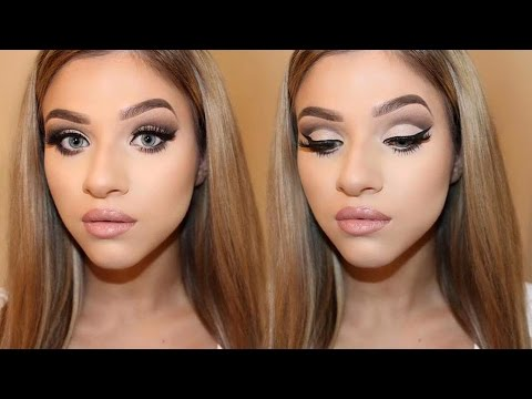 Maybelline The Nudes Palette | Cut Crease Makeup Tutorial