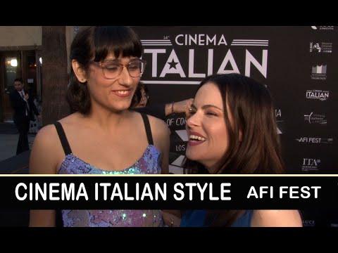 Cinema Italian Style: Teddy Geiger, Emily Hampshire - Red Carpet | AFI Fest 2018 Mp3