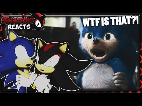 Sonic & Shadow Reacts To Sonic The Hedgehog (2019) - Official Trailer!