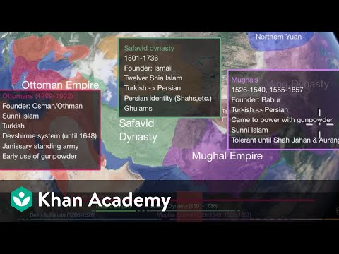 Ottoman, Safavid and Mughal Empires | World History | Khan Academy