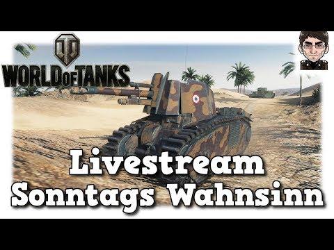World of Tanks - Livestream vom Sonntag [deutsch]