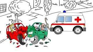 First to Draw - Whiteboard Animation Marketing for Solicitors Accident Claim Video