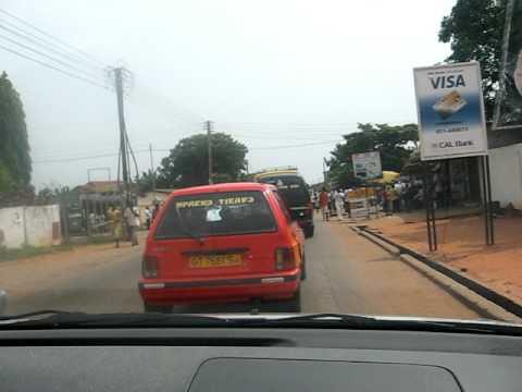 Driving through North Kaneshie