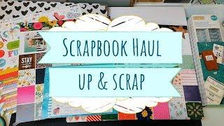 Compras Haul Scrapbook en Up & Scrap | Rebajas de enero
