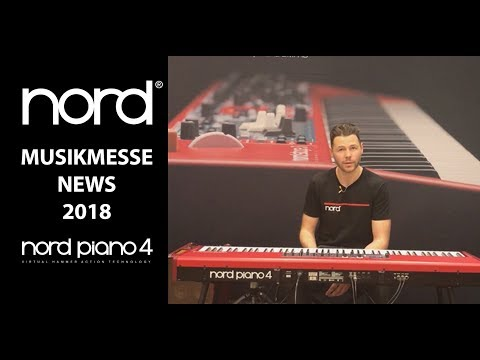 NORD MUSIKMESSE 2018 NEWS - Nord Piano 4
