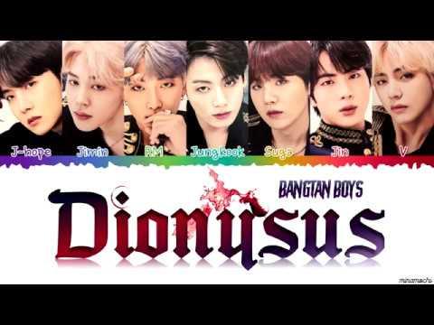 BTS (방탄소년단) 'Dionysus' Lyrics [Color Coded Han_Rom_Eng] | Requested