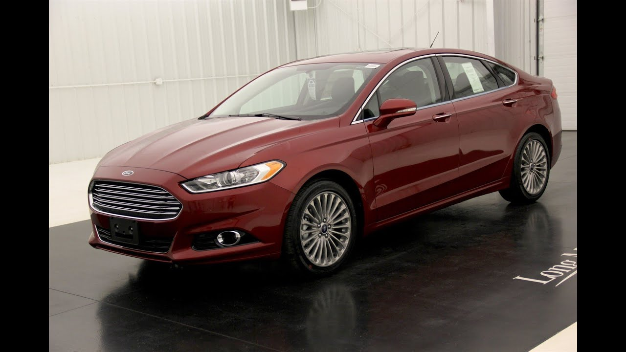 2016 ford fusion titanium standard equipment available options youtube. Black Bedroom Furniture Sets. Home Design Ideas