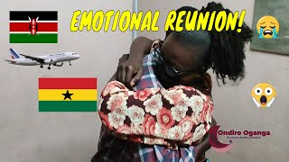 I secretly flew to Ghana to surprise my boyfriend after 2 years apart Emotional reunion