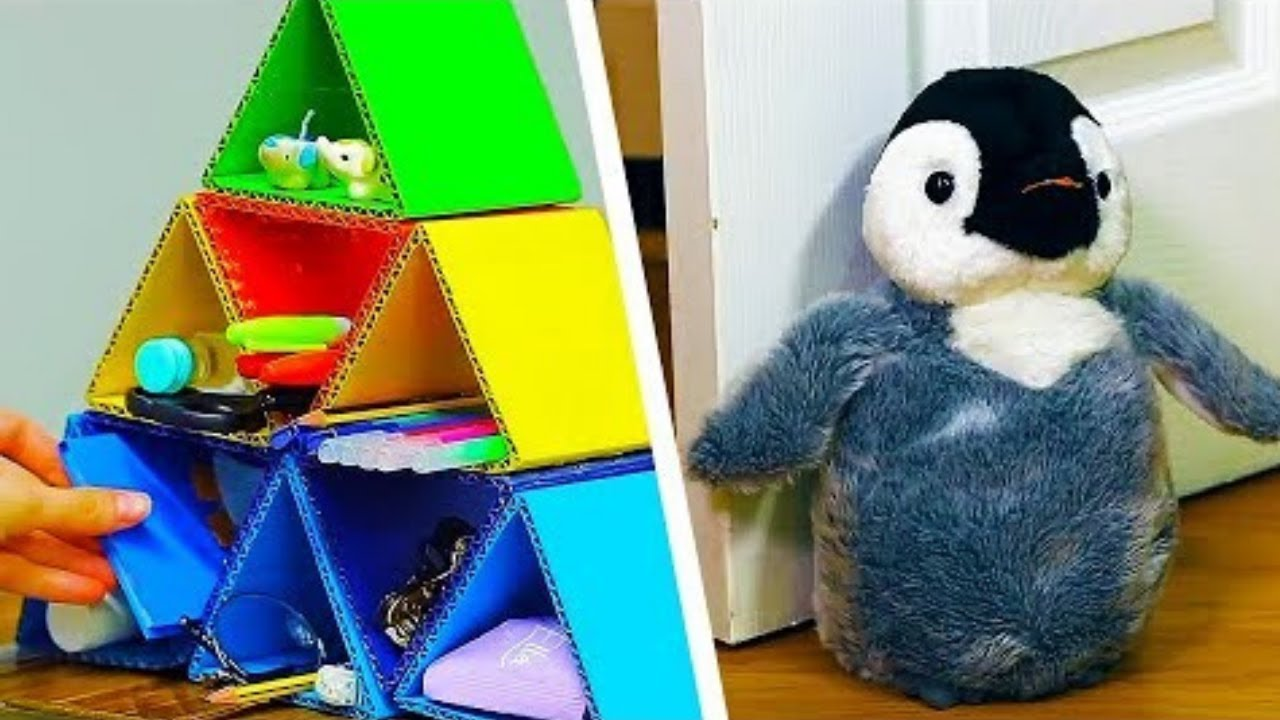 12 Easy Bedroom Decor Ideas For Kids | Affordable Home Decor DIYs | Craft Factory