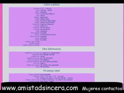 Buscar Amistad - Mujeres Contactos - Chat Amor