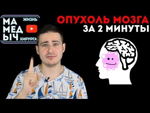 Опухоль головного мозга. Узнать за 2 минуты