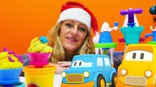 Spielspaß mit Play-Doh - Wir packen Spielzeug aus - Das Eiscreme-Schloss