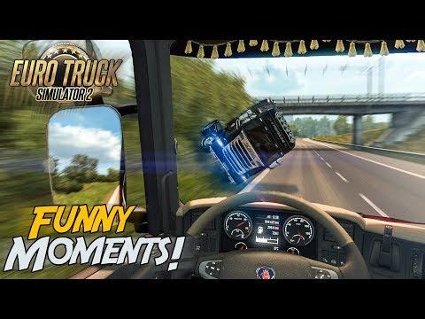 Euro Truck Simulator 2 Multiplayer Funny Moments & Crash Compilation #90