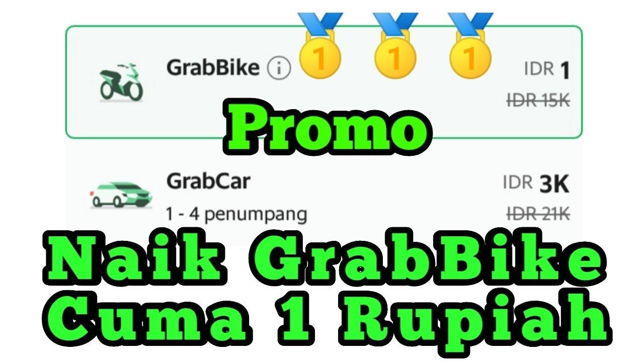 Kode Promo Grabbike Terbaru Rp 1 Rupiah Youtube