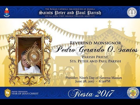 Sts  Peter and Paul and Virgen de la Rosa - Novena and Mass (Day 9)