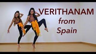 Verithanam Kuthu dance cover from Spain | Bigil | Thalapathi Vijay | Vinatha Sreeramkumar