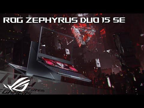 2021 ROG Zephyrus Duo 15 SE - Two Screens. Zero Limits. | ROG