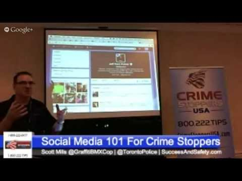 Social Media For Crime Stoppers Programs #CSUSA
