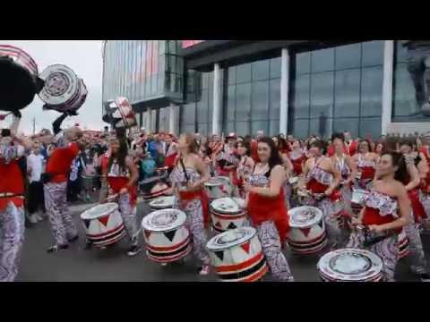 Batala London Playing at Wembley Stadium 2014 (HD)